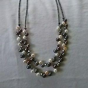 Lia Sophia Freshwater Pearl Necklace